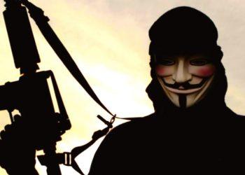 Anonymous terza guerra mondiale